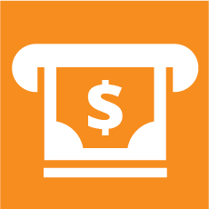 ATM icon selected