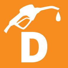 Diesel icon selected