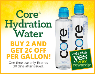 Core Hydration Water - Buy 2 and Get $0.02 OFF per Gallon