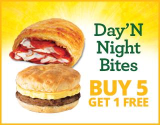 Day' N Night Bites Buy 5 get 1 FREE