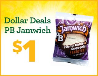 Dollar Deals PB Jamwich