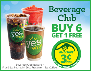 Beverage Club Buy 6 Get 1 FREE - And Save $0.03/Gallon