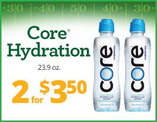 Core Hydration 23.9 oz - 2 for $3.50