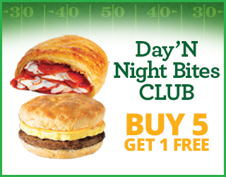 Day N' Night Bites CLUB - Get 5 Get 1 FREE