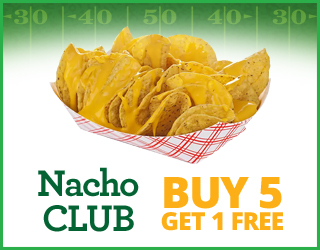 Nacho CLUB - Buy 5 Get 1 FREE