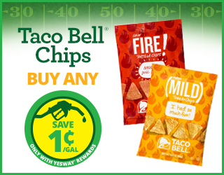 Taco Bell Chips - Buy Any - Save $0.01/gallon