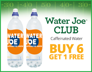 Water Joe CLUB (Caffeinated Water) - Buy 6 Get 1 FREE