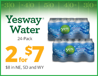 Yesway Water 24-Pack - 2 for $7