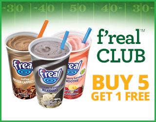 f'real CLUB - Buy 5 Get 1 FREE