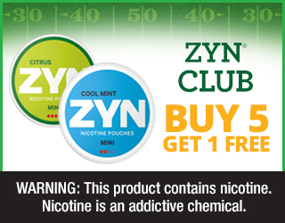 ZYN CLUB - Buy 5 Get 1 FREE