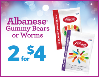 Albanese Gummy Bears or Works - 2 for $4
