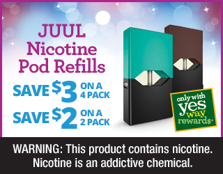 JUUL Nicotine Pod Refills - Save $3 on a 4 Pack - Save $2 on a 2 Pack