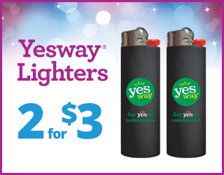 Yesway Lighters - 2 for $3