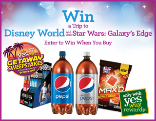 Win a Trip to Disney World and visit Star Wars: Galaxy's Edge - Enter to Win When You Buy