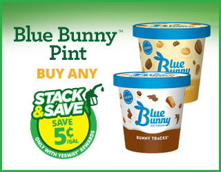 Blue Bunny Pint - Buy Any - Stack & Save $0.05/gallon