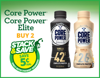 Core Power or Core Power Elite - Buy 2 - Stack & Save $0.05/gallon
