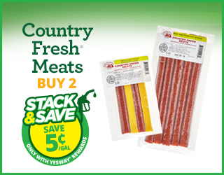 Country Fresh Meats - Buy 2 - Stack & Save $0.05/gallon