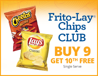 Frito-Lay Chips CLUB - Buy 9 Get 10th FREE - Single Serve