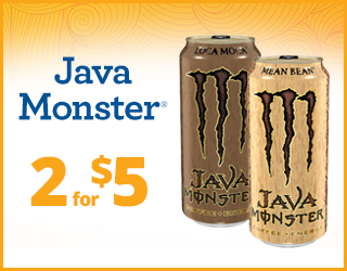 Java Monster - 2 for $5