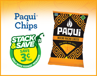 Paqui Chips - Save $0.03/gallon
