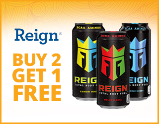 Reign - Buy 2 Get 1 FREE