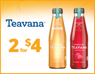 Teavana - 2 for $4