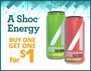 A SHOC - Buy 1, get 1 for $1