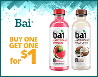 Bai - Buy 1, get 1 for $1