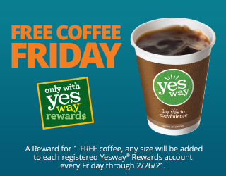 Free Coffee Friday