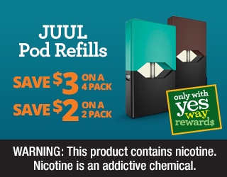 JUUL Pod Refills - Save $3 on a 4 Pack - Save $2 on a 2 Pack