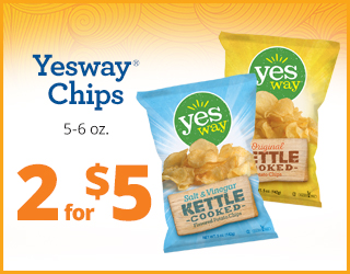 Yesway Chips 5-6oz 2 for $5