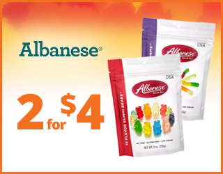 Albanese - 2 for $4