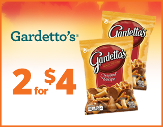 Gardetto's - 2 for $4