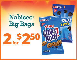 Nabisco Big Bags - 2 for $2.50