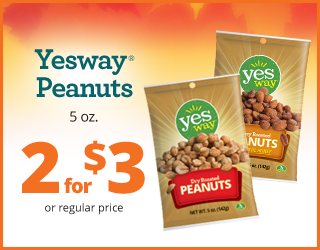 Yesway Peanuts 5oz - 2 for $3